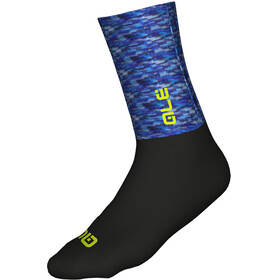 Alé Cycling Logo Merino Socks 18cm Blue/Black